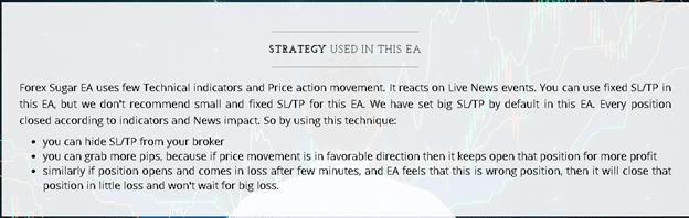 Forex Sugar EA Strategy