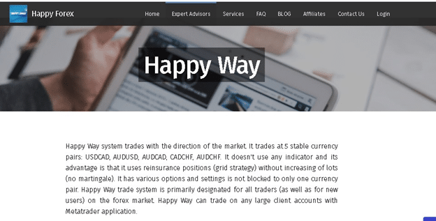 Happy Way Trading Strategy
