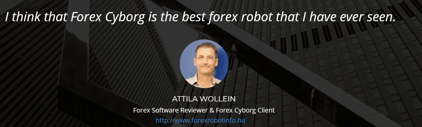 Forex Cyborg Robot comments.