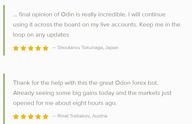 Odin robot Customer reviews