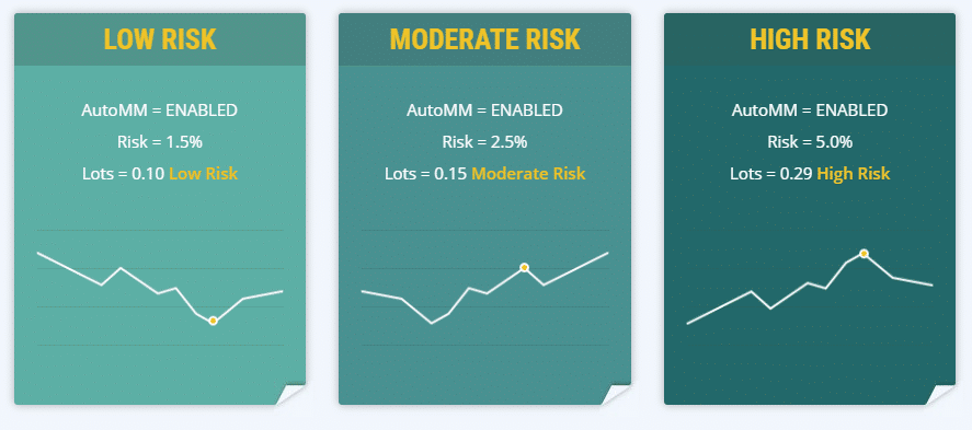 Volatility Factor levels of risk