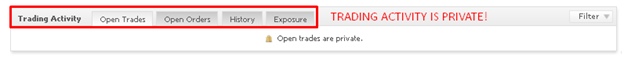 Big Bang Hidden Trading Activity Data