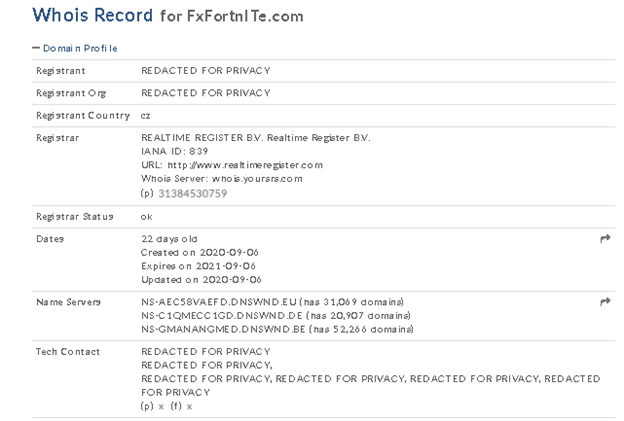 FX Fortnite EA location