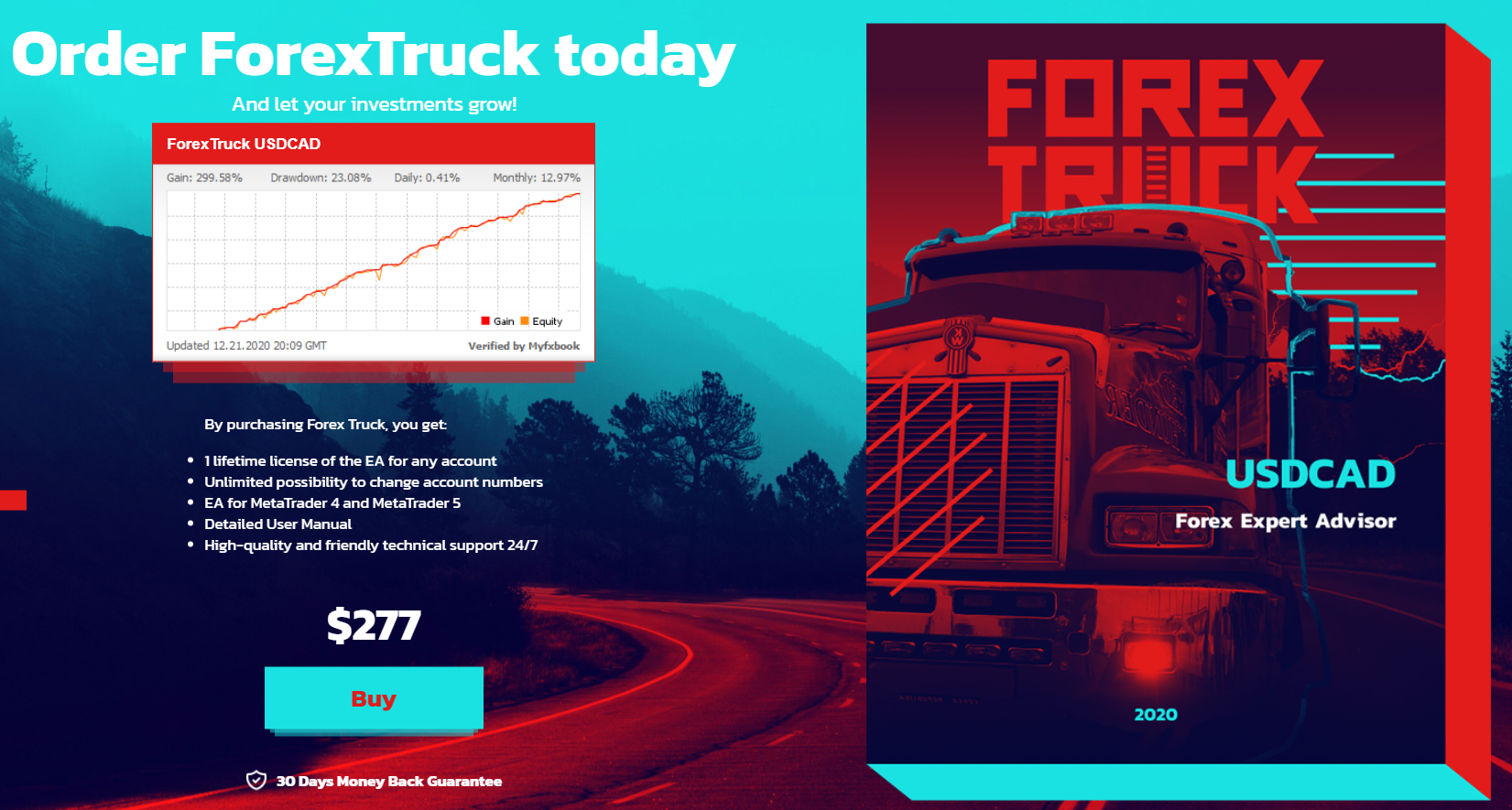 Forex Truck price