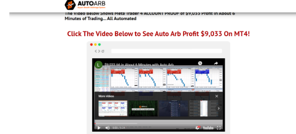 AutoArb No Verified Trading Results