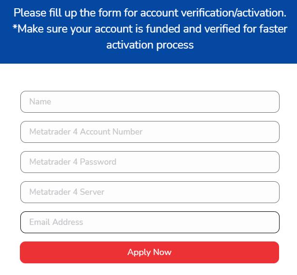 Elite Forex Scalper account verification