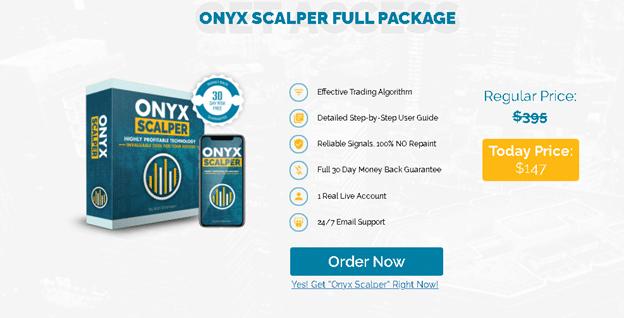 Onyx Scalper Price