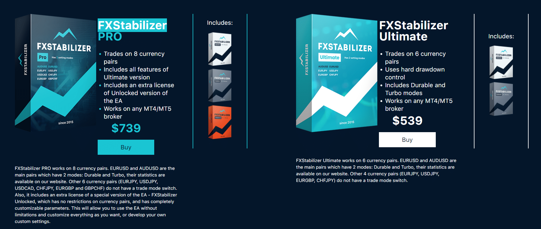 FX Stabilizer price