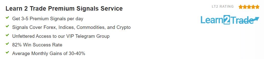 Learn2Trade Premium Signals service