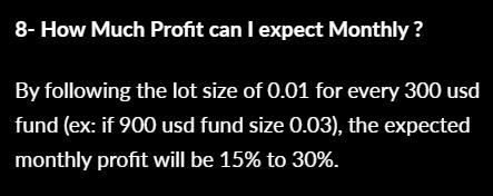 Swing VIP EA - profit