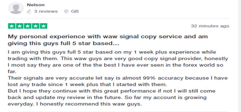 Waw Forex Signals User Feedback