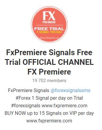 FX Premiere Telegram community