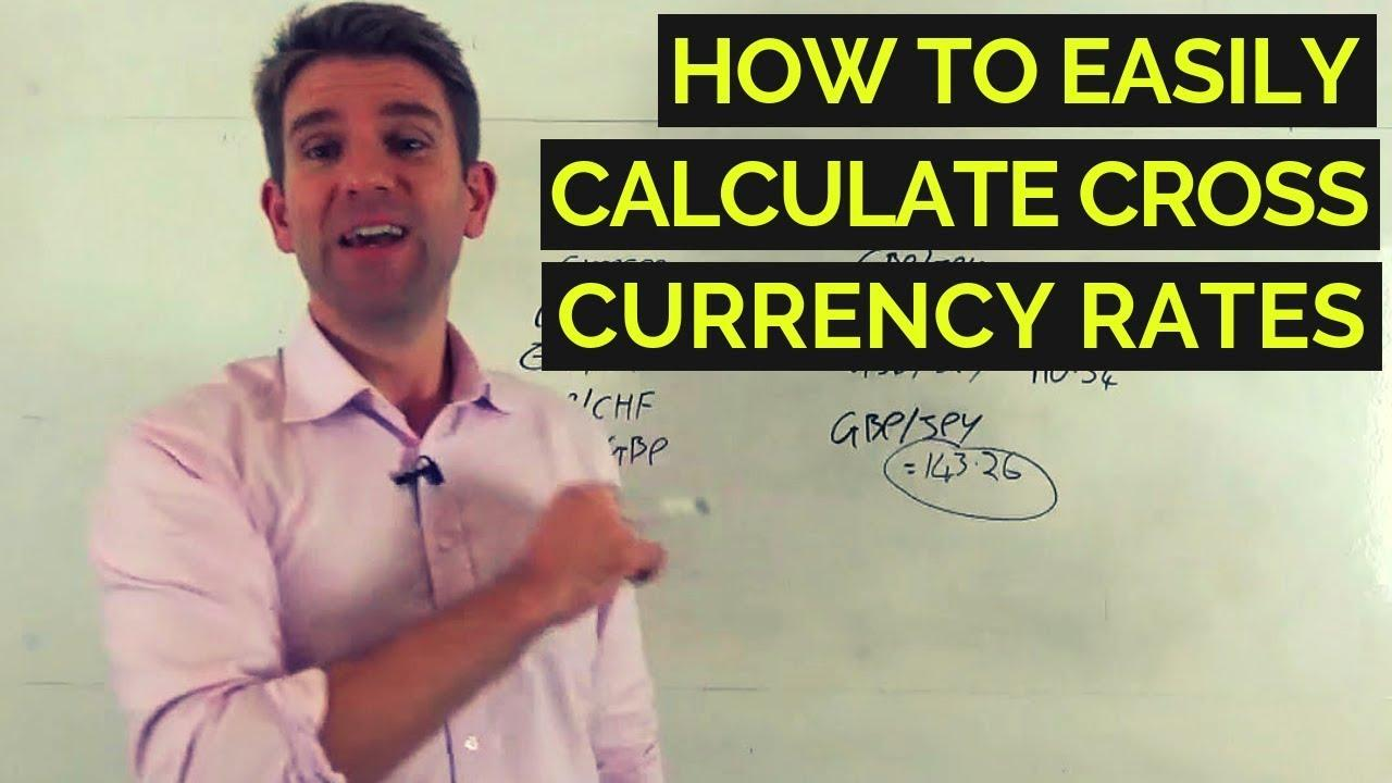 How To calculate cross currency rates