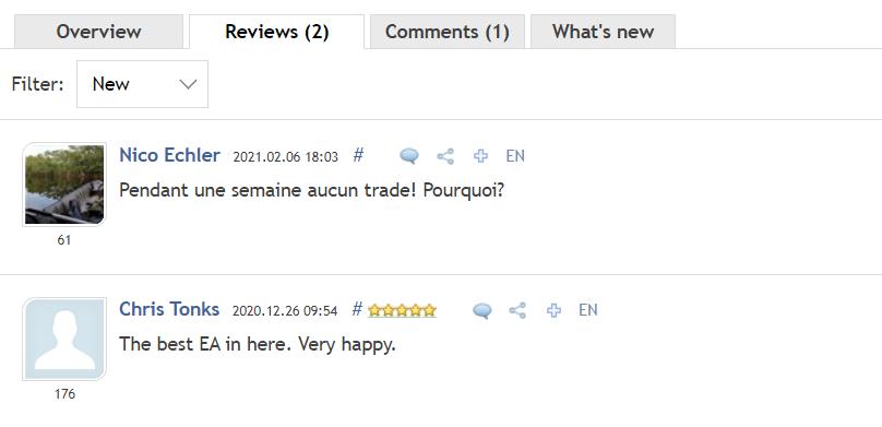 Ranger EA People feedback