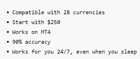 R0B0.1. The system can trade with 28 currency pairs.