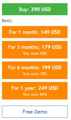 Advanced Scalper price
