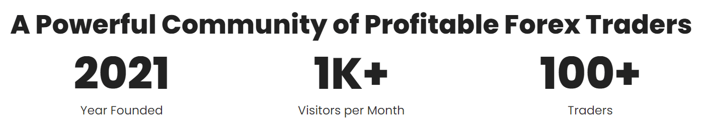 Green Graph EA. There are over 1000 visitors monthly and 100 traders.