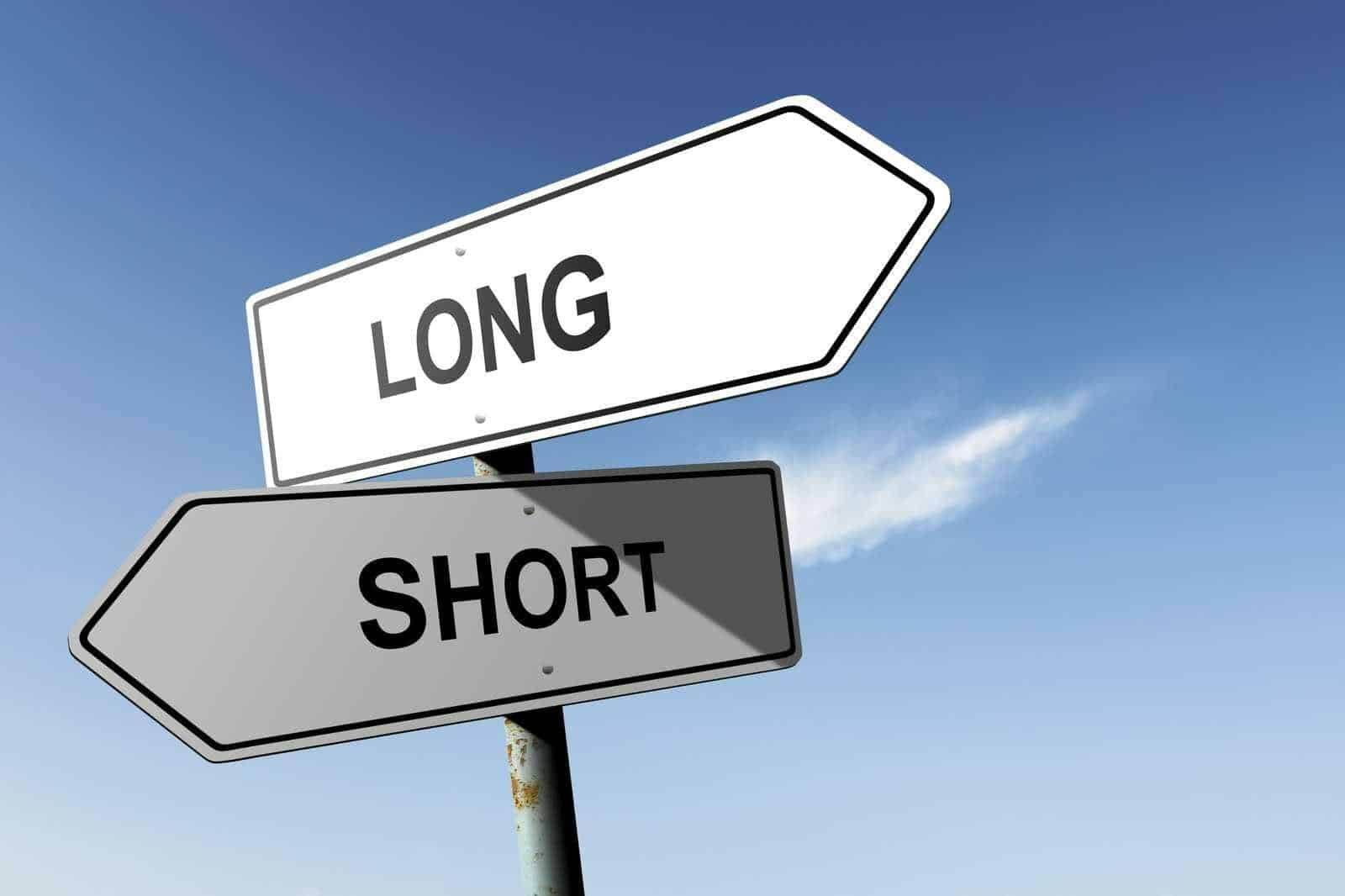 Trading: Long vs. short