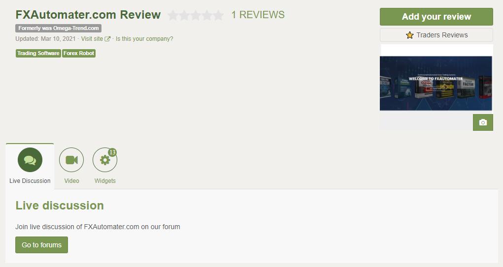 Gold Scalper Pro People feedback