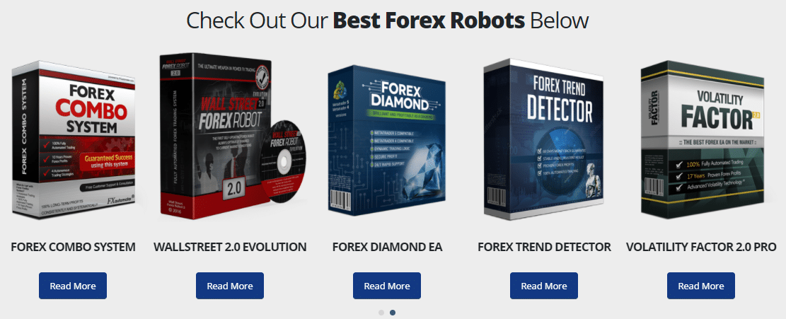 Gold Scalper Pro - well-known products of FXAutomater