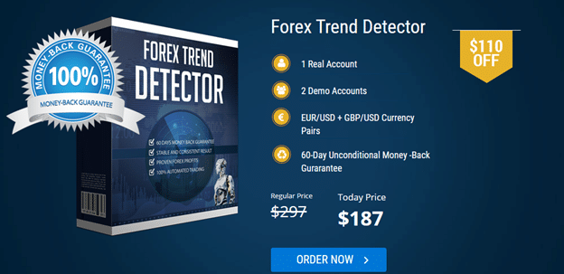 Forex Trend Detector price