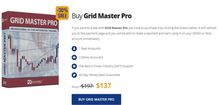Grid Master Pro price