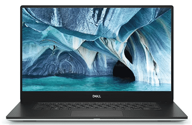 The Dell XPS 15 laptop