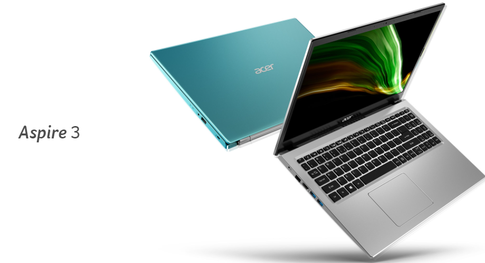 The Acer Aspire 3 laptop