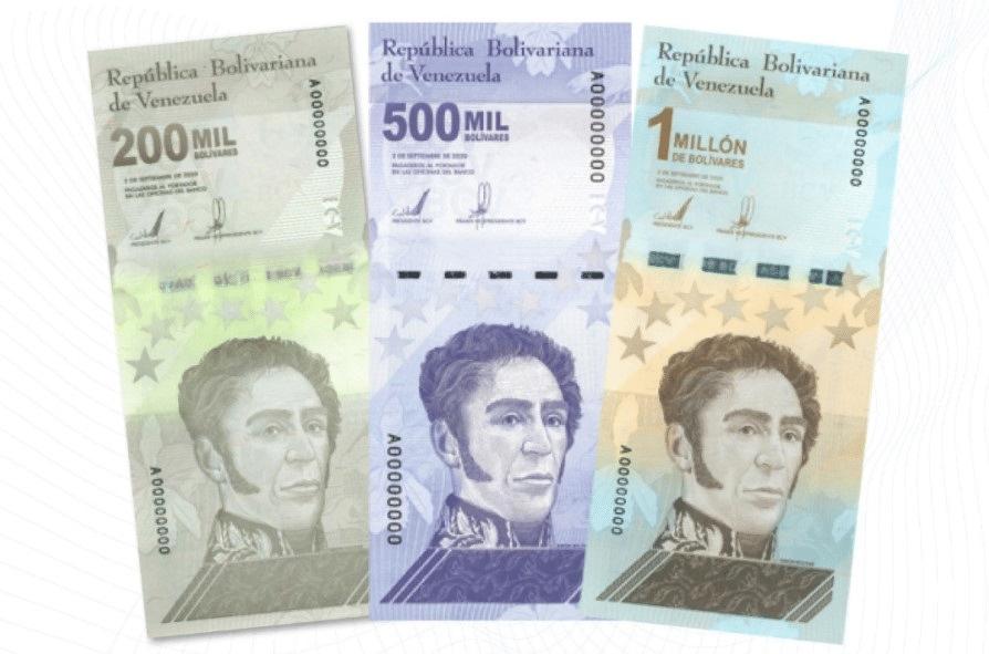 Bills of Venezuela
