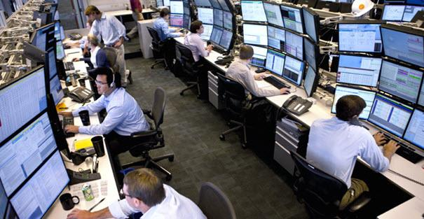 Image showing a  typical prop trading operation